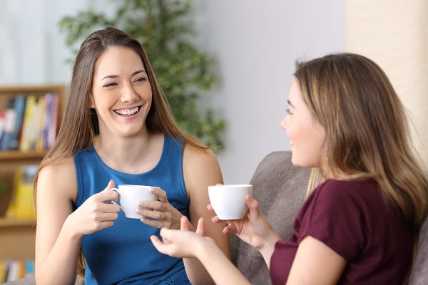 dialog og vær rar at være sammen med